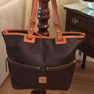 Leather DOONEY & BURKE TOTE